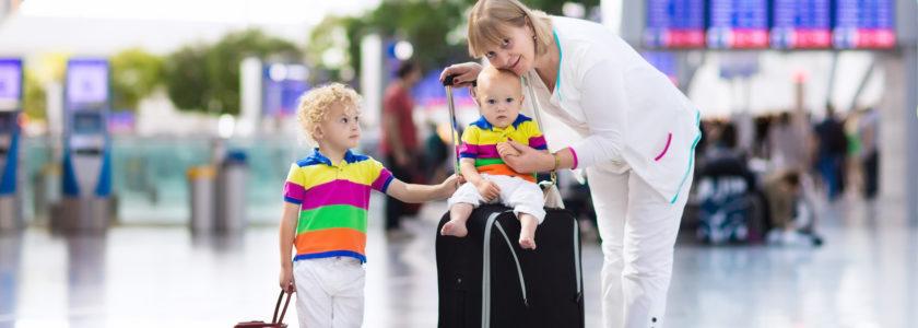 wyjazd z niemowlakiem