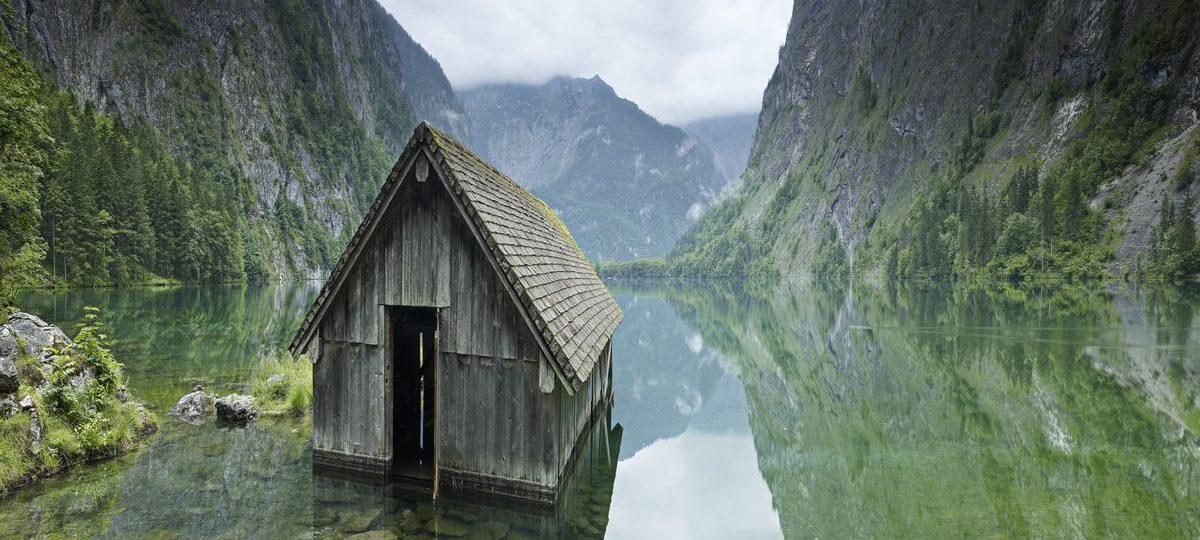 chatka w gorach